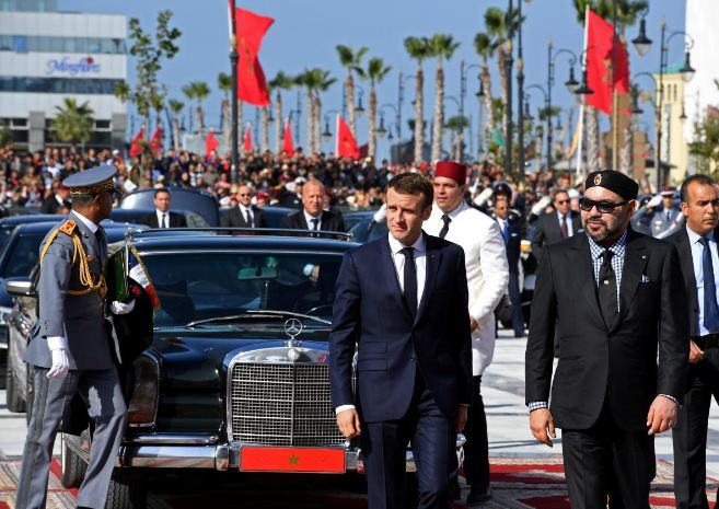 بعد التيجيفي .. ماكرون يحل بالمغرب لتدشين مصنع للسيارات في القنيطرة !