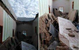 صور/ انهيار منزل على رؤوس عائلة بآسفي .. نقل أم و أبنائها المصابين للمستشفى !