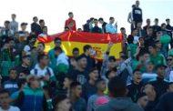 فريق كروي يستنكر رفع العلم الإسباني في مدرجات ملعب الناظور و يصف الفاعلين بـ'المشوشين' !
