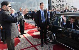 صور/ العثماني رافق ماكرون إلى المطار بعد تدشين التيجيفي !