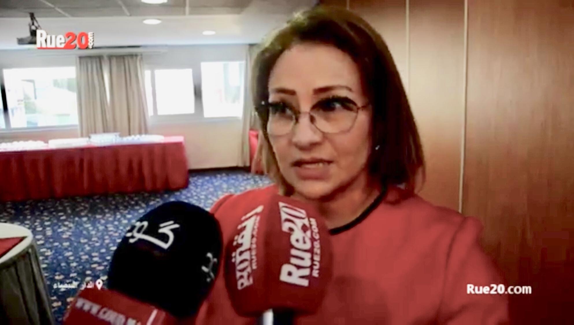 فيديو/رئيسة جمعية القضاة: لن نسمح لأحد مهما كان موقعه بإهانة القضاء والتشكيك في نزاهته