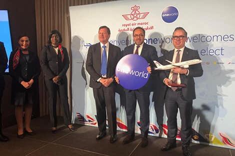 'الخطوط الملكية المغربية' تحضى بشرف الإنضمام للتحالف العالمي 'وان وورلد' كأول شركة طيران أفريقية