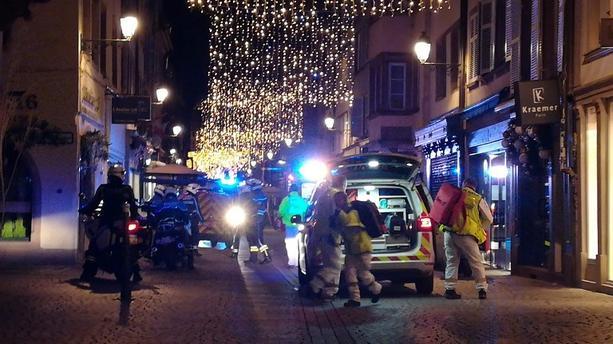 مصرع شخصين وجرح آخرين في إطلاق نار بستراسبورغ الفرنسية