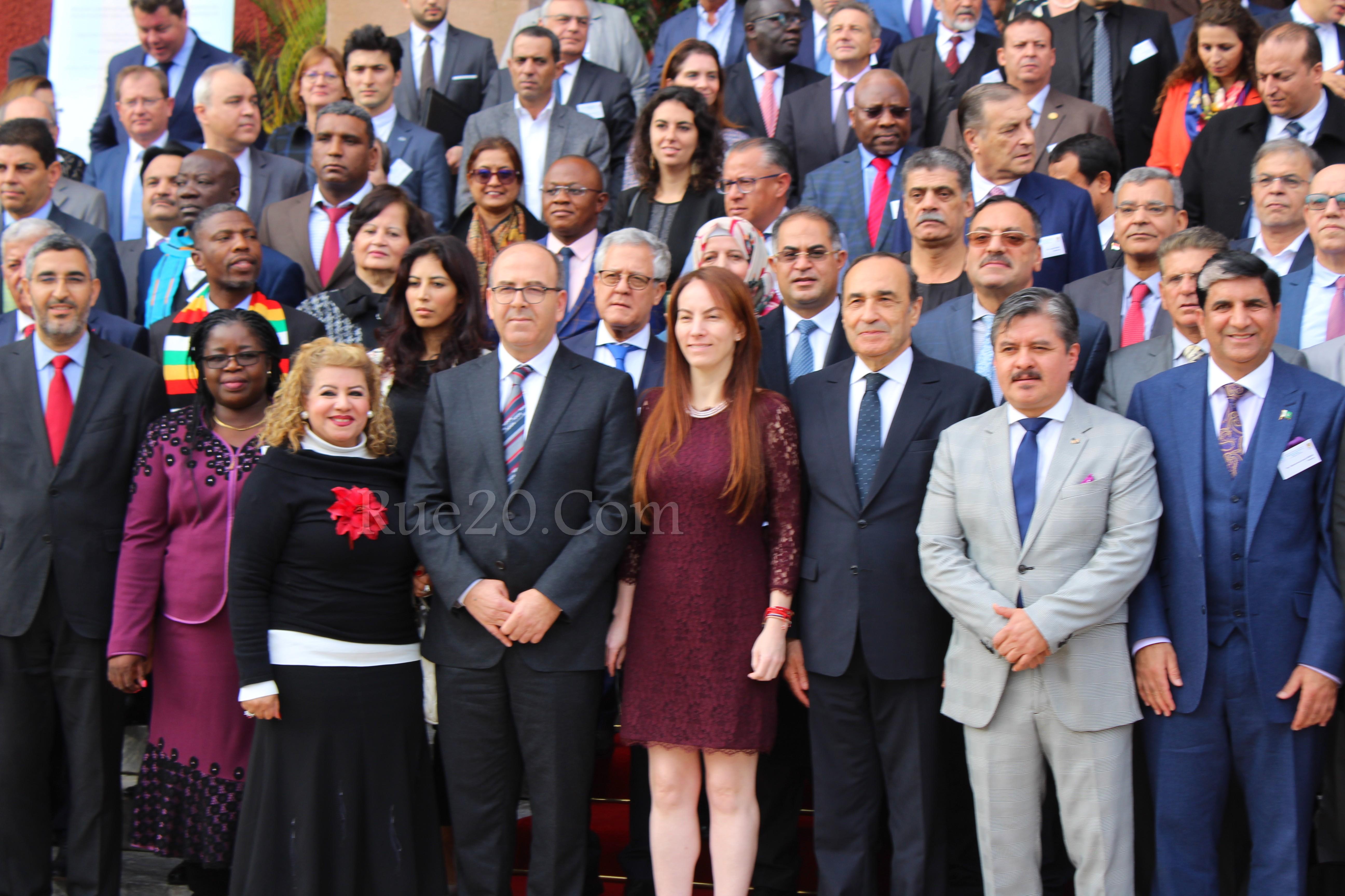 رئيسة الإتحاد البرلماني الدولي تدعو من الرباط لتنظيم وتقنين الهجرة للحد مِن المآسي