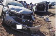 مقتل شخصين و إصابة ثالث بجروح خطيرة في حادث سير مروع باشتوكة !