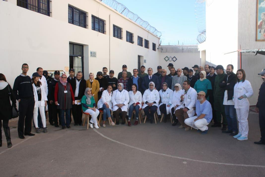 نزلاء سجن وجدة يستفيدون من حملة طبية متعددة الإختصاصات !