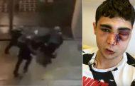 فيديو خطير/ الشرطة الفرنسية 'تسلخ' مغربياً بوحشية بعد اشتباهها في انتمائه لـ'السترات الصفراء' !