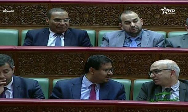 حامي الدين يظهر في البرلمان و فريق البيجيدي بالمستشارين يطالب بمحاسبة قاضي التحقيق !