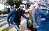 فيديو | لص يسرق زوجين وسط الشارع العام بالرباط !