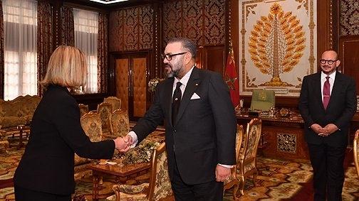 محمد السادس يستقبل 'فيديريكا موغريني' بالقصر الملكي بالرباط بعد مصادقة البرلمان الأوربي على الإتفاق الفلاحي مع المغرب