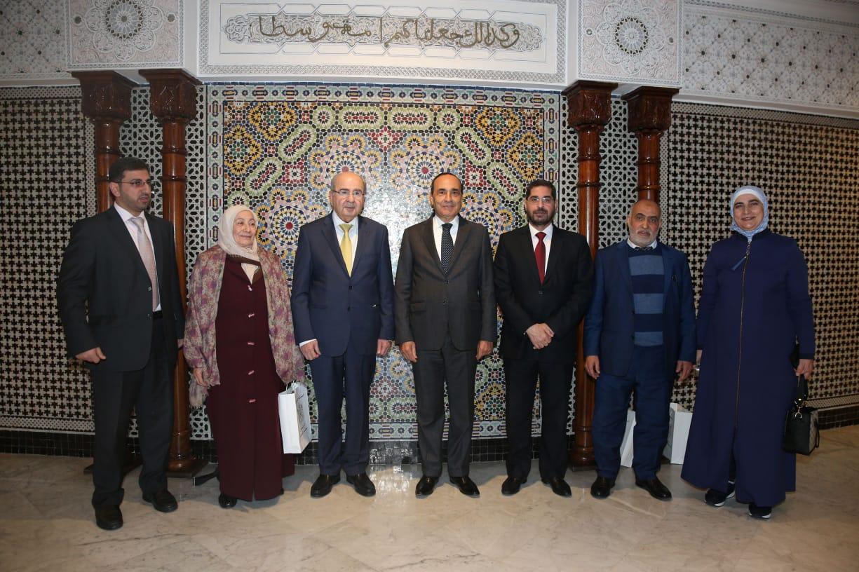 رئيس هيئة إعمار فلسطين يُشيدُ بدور المغرب في دعم صمود الشغب الفلسطيني