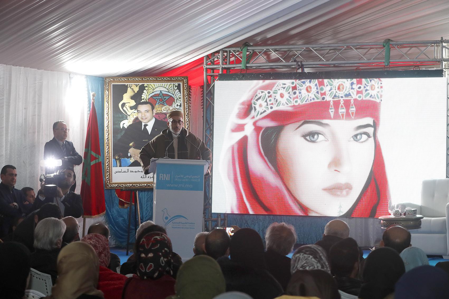 قيادات 'التجمع' تحتفل بالسنة الأمازيغية بالناظور وتُعلنُ وضع مشروع قانون لإقرارها عيداً وطنياً