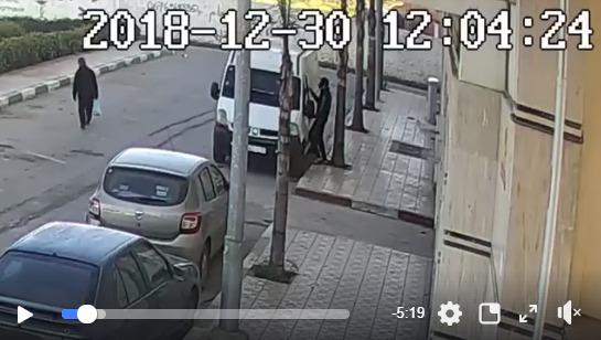 فيديو منشور على الفايسبوك يقود لاعتقال شخص بتمارة سرق سيارة لنقل البضائع !
