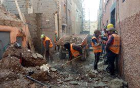 صور/ انهيار منزل متهالك في المدينة العتيقة بمراكش يبث الرعب في نفوس السكان !