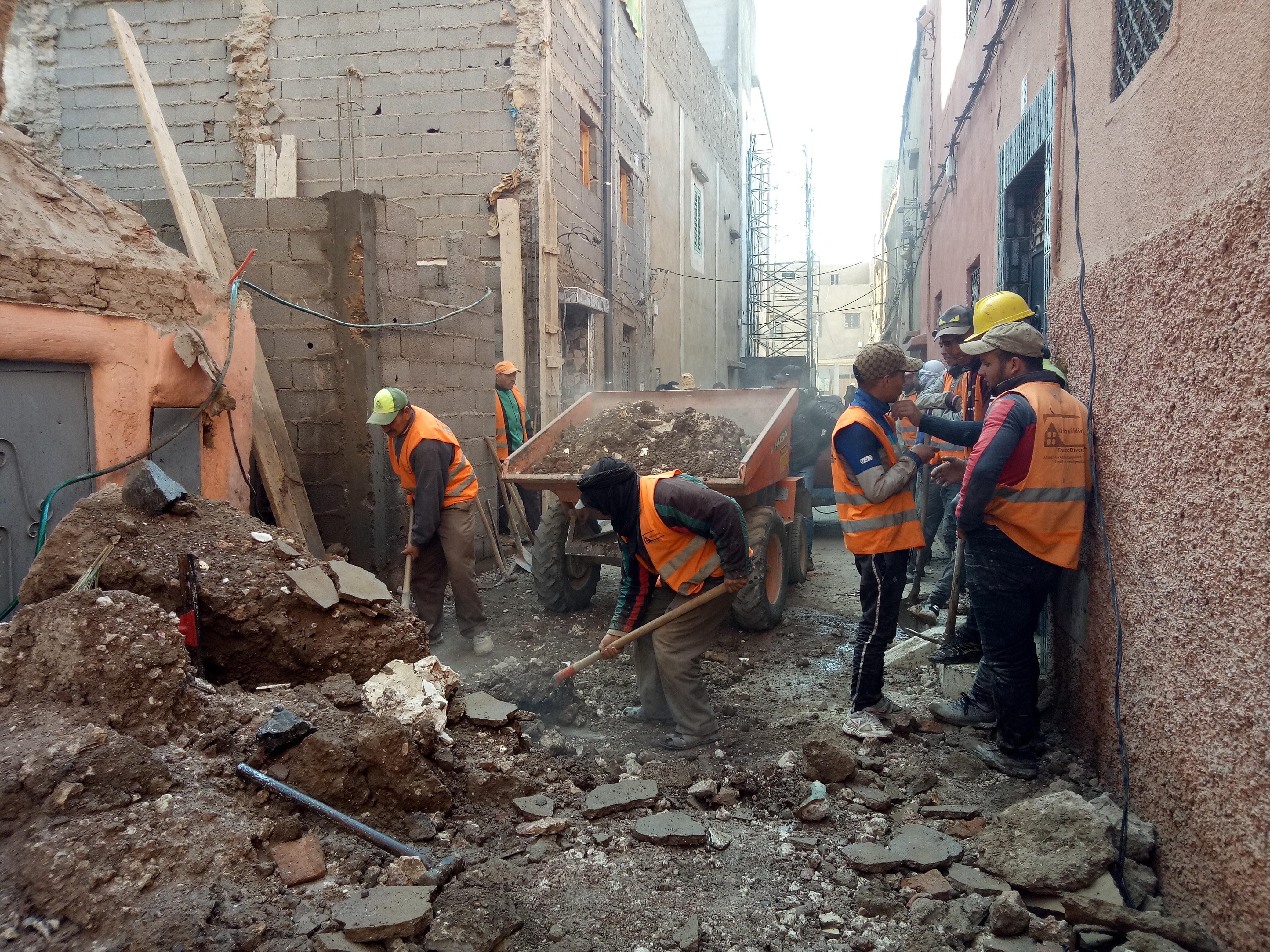 انهيار منزل بطانطان يوقع إصابات خطيرة و مواطنون يدقون ناقوس خطر المنازل الآيلة للسقوط !