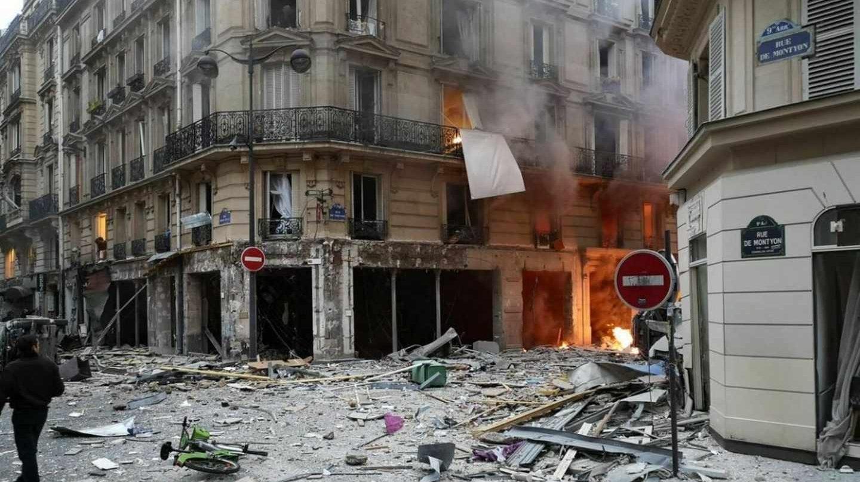 صور و فيديو/ انفجار ضخم يهز باريس و يخلف عشرات الجرحى في حالة خطيرة !