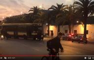 فيديو | أشخاص يعترضون 'توبيس' بطريقة غريبة بالدار البيضاء !