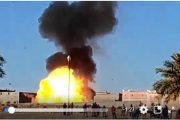 فيديو   انفجار شاحنة محملة بقنينات الغاز بزاكورة !