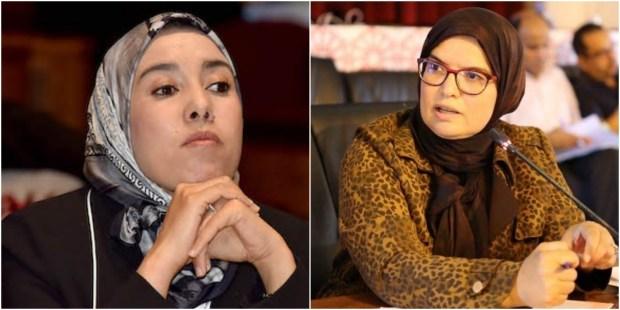رئيسة مقاطعة بسلا و قيادية في البيجيدي : ماء العينين خدعت الجميع و تلاعبت باللباس الإسلامي !