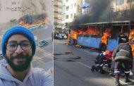 سيلفي غريب مع 'محرقة توبيس الدار البيضاء' يثير زوبعةً بالفايسبوك !