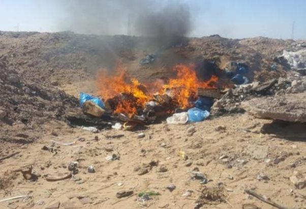 """صور/ درك العيون يحجز طن من """"خيار البحر"""" المحظور و معدات الغطس !"""