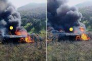 فيديو   سقوط طائرة 'ميراج' تابعة للقوات الملكية الجوية بتاونات !