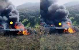 فيديو | سقوط طائرة 'ميراج' تابعة للقوات الملكية الجوية بتاونات !