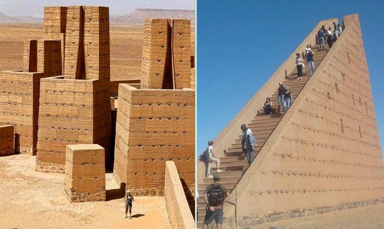 صور/ معالم سياحية فريدة بالراشيدية شبيهة بأهرامات مصر يزورها آلاف السياح و لا يعلم بها المغاربة !