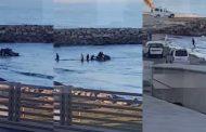 فيديو | 'حراكة' بطنجة يركبون 'الجيت سكي' للوصول إلى أوربا !