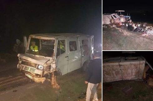 صور/ حادثة سير مميتة بوالماس تودي بحياة شخص و تصيب آخرين بجروح خطيرة !