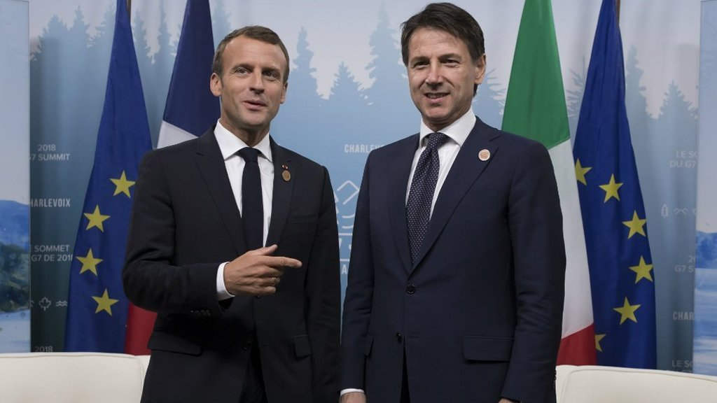 فرنسا تستدعي سفيرها بروما وسط أزمة تنذر بتوتر سيطول بسبب النفط الليبي