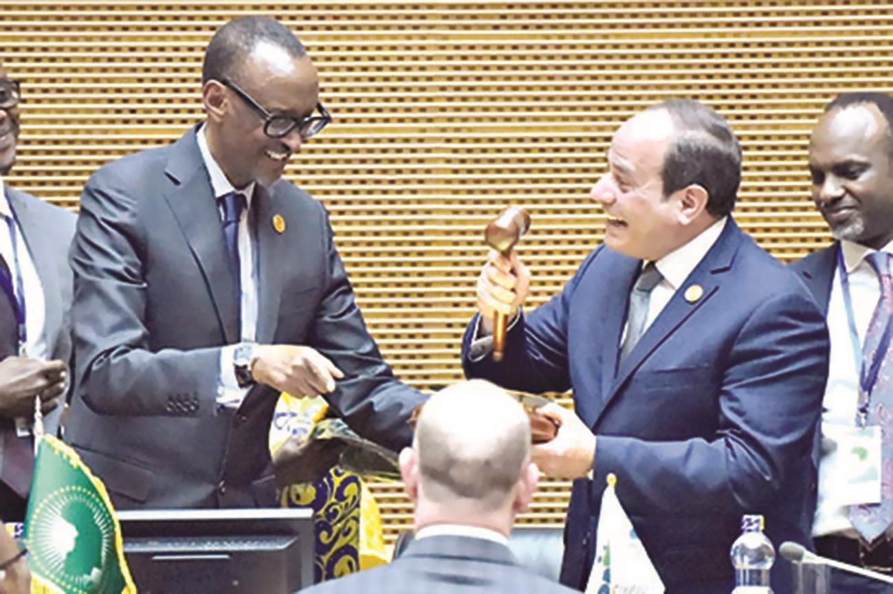 مصر تتسلم رئاسة الإتحاد الإفريقي و تصف قضية الصحراء بالمعقدة !