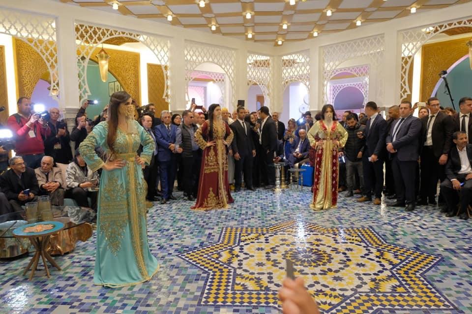 إنطلاق النسخة الخامسة للأسبوع الوطني للصناعة التقليدية بمراكش بحضور دولي