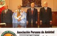 سابقة/رئيس مجلس البيرو للصداقة مع البوليساريو يدعو الجبهة لقُبول الحُكم الذاتي