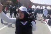فيديو/أستاذة بالتعاقد: أين ثروات البلاد..والله حتى نوضُوها يا الترسيم يا الممات