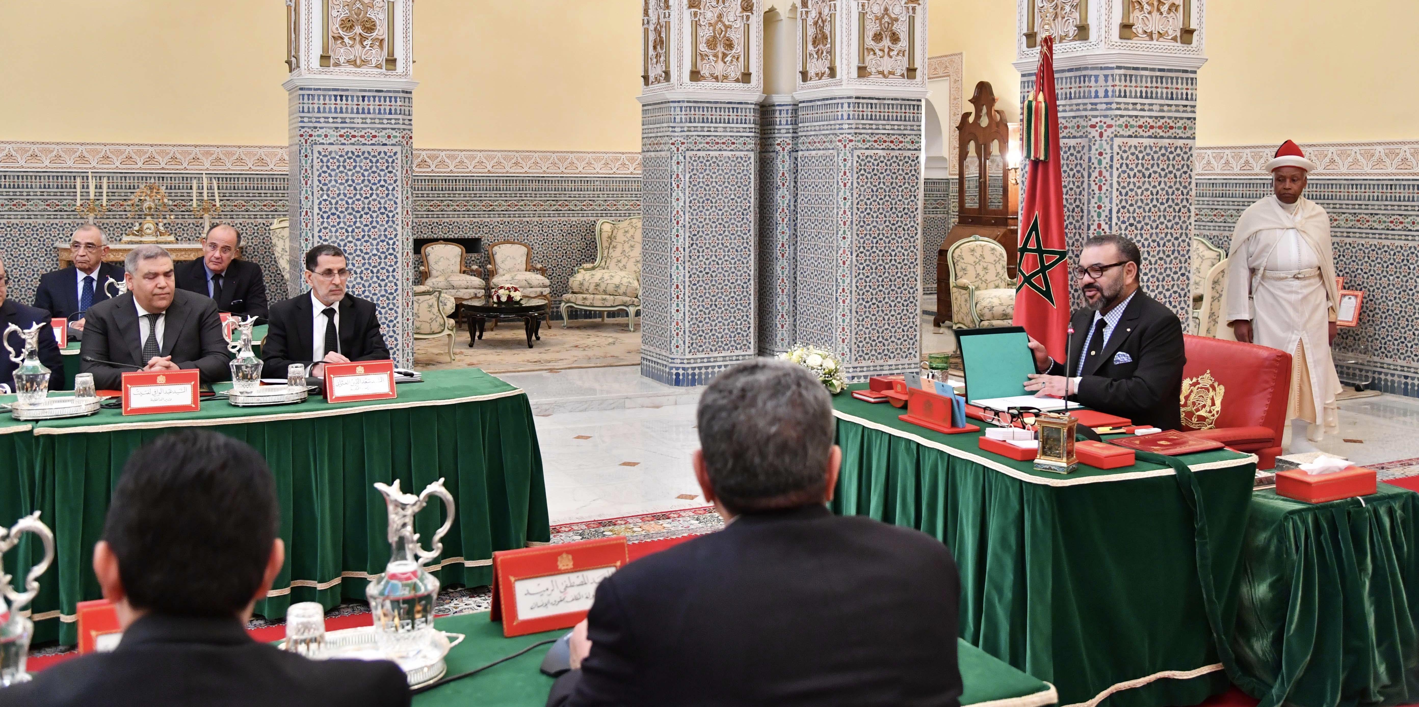 إنفراد/تعيينات واسعة للعُمال والوُلاة والسفراء بالمجلس الوزاري بمراكش