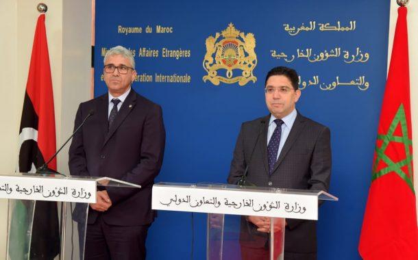 ليبيا تتخلى عن الجزائر وتطلبُ الدعم المغربي لتكوين أجهزتها الأمنية لبناء الدولة