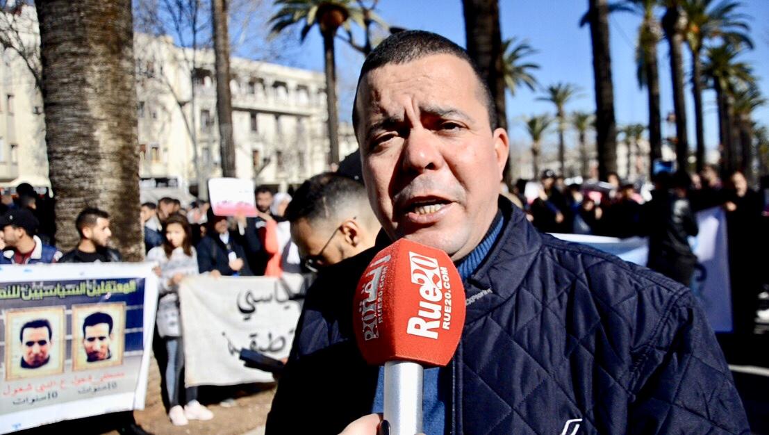 """فيديو/عائلة 'آيت الجيد': """"نحترم القضاء وننتظر إنصاف إبننا الشهيد"""""""
