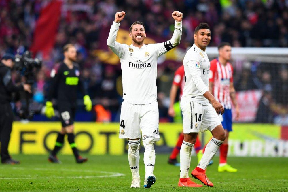 الريال يحسم دربي مدريد بهزم الأتلتيكو وانتزاع المركز الثاني بالليغا