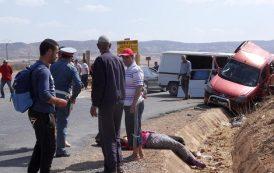 حادث سير مفجع بكلميم يودي بحياة شخص و يوقع إصابات بليغة لاثنين آخرين !