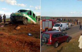 صور/ حادثة سير مروعة بالحوز تودي بحياة 3 أشخاص و تصيب 7 آخرين بجروح خطيرة !