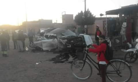 رئيس جماعة بشيشاوة يتعرض لكسور في حادثة سير خطيرة بعد عودته من سهرة في مراكش !