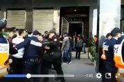 فيديو   لحظة إخراج جثة الشاب المختطف و المقتول داخل شقة بفاس !