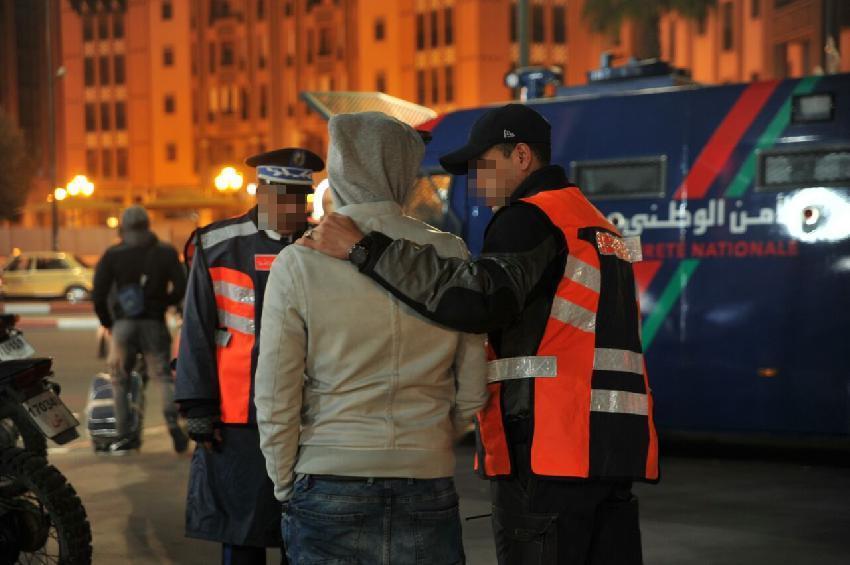 مطاردة رئيس عصابة تتسبب في إصابة شرطيين بمراكش !