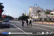 فيديو | أستاذ متعاقد ينجو بأعجوبة من قبضة أمنيين قرب القصر الملكي بالرباط !