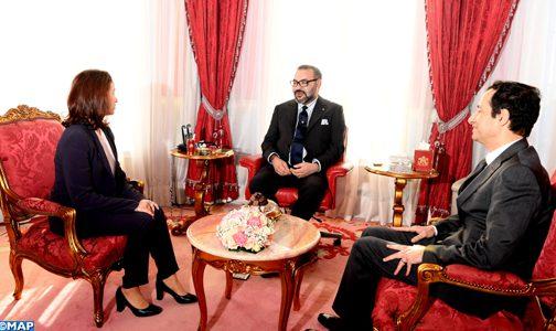 الملك يستقبل رؤساء صندوقي الحسن الثاني و التنمية السياحية المعينين مؤخراً !
