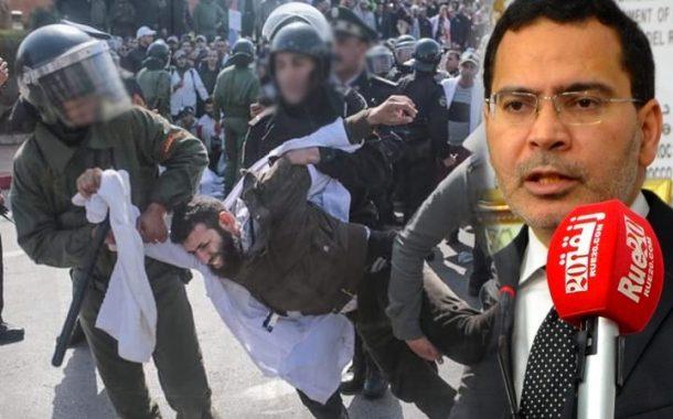 الخلفي : تعنيف الأساتذة تم بالقانون و الترسيم في الوظيفة بعد سنتين !