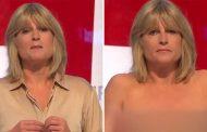 فيديو   مذيعة بريطانية تتعرّى على الهواء  بسبب 'البريكست' !