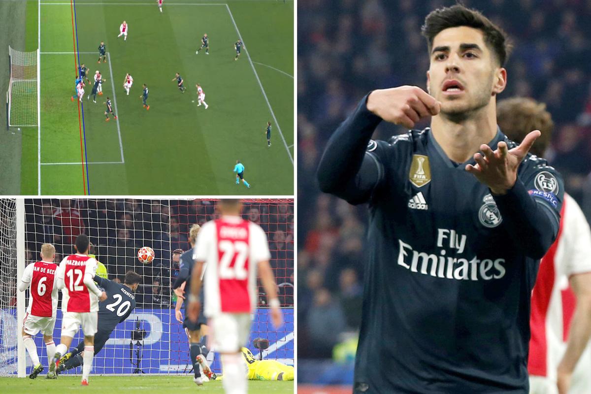 هدف أم تسلل.. هل حرم الحكم أياكس من الفوز على ريال مدريد ؟!