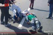 فيديو  أقوى لحظات تعنيف مسيرة الأساتذة المتعاقدين بالرباط !